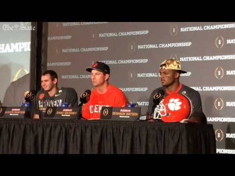 Dabo Swinney: Clemson over Alabama was not an upset