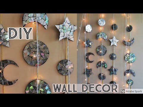 DIY  | WALL DECOR | Unique Wall Decor  | Home Decor Ideas |  waste material  Craft