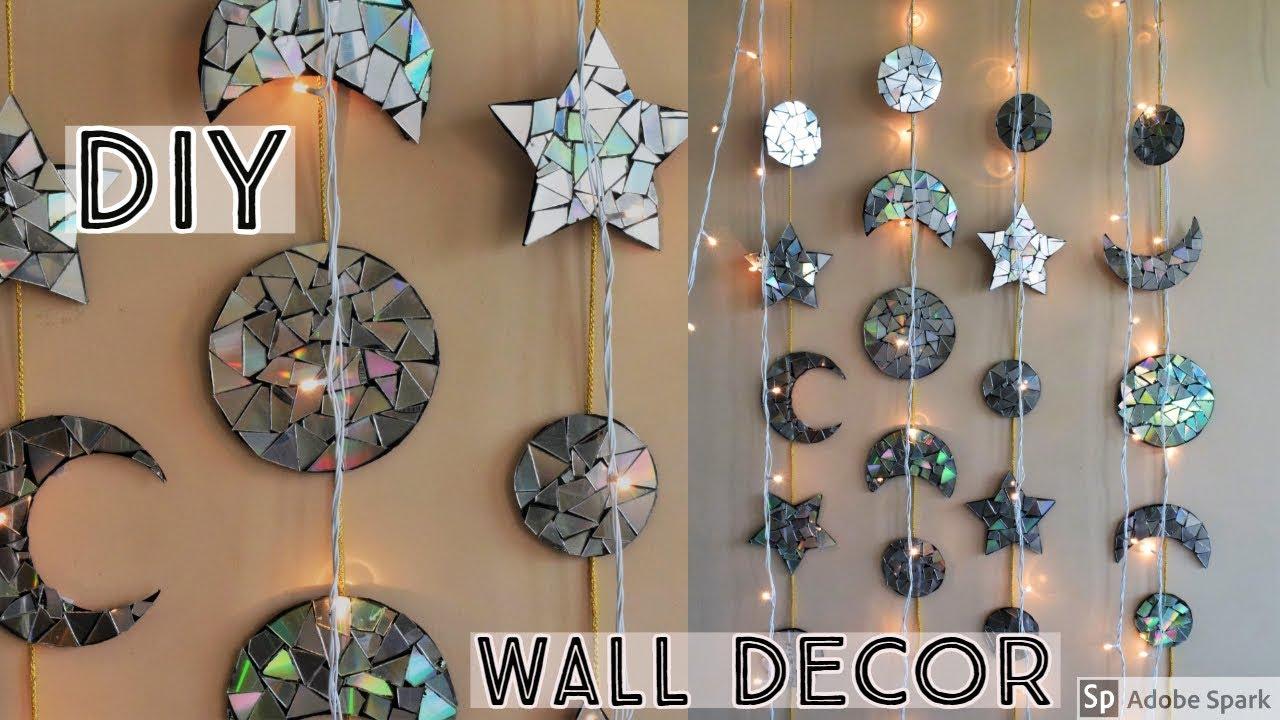 DIY  WALL DECOR  Unique Wall Decor  Home Decor Ideas  waste material  Craft