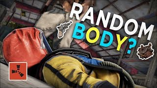 FINDING a MYSTERIOUS BODY FULL of RANDOM LOOT! - Rust Solo Survival #1