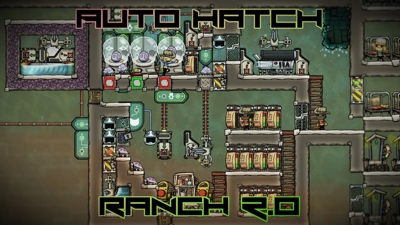 Automated Hatch Ranch Experiment Oxygen Not Included Part 2 Of 2 Youtube