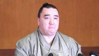 大相撲の秋巡業中にあった暴行問題で、日本相撲協会に引退届を出し受理...