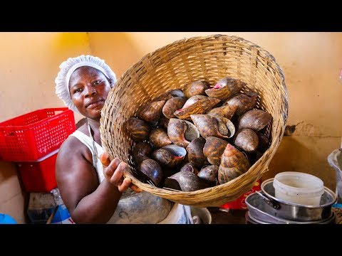 The Ultimate GHANA STREET FOOD TOUR - Jamestown WEST AFRICAN FOOD in Accra, Ghana!