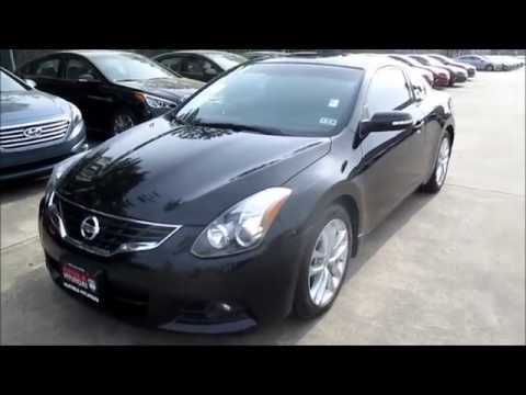 2011 Nissan Altima Coupe 3 5sr Start Up Walkthrough Youtube