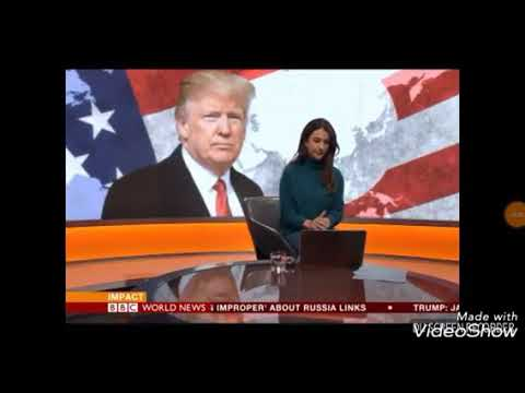 BBC World News Japanese Analysist Speaking To BBC On President Trump Visit.