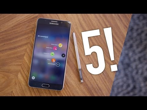 Samsung Galaxy Note 5 Review!