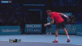 2015 Barclays ATP World Tour Finals - David Ferrer Hot Shot