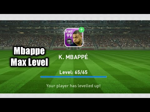 TRAINER MBAPPE FEATURED TO MAX LEVEL ☆ PES2019 MOBILE TRAINERS
