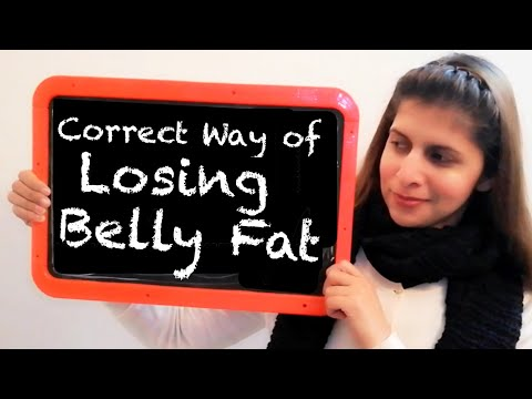 correct-way-for-losing-belly-fat-|-पेट-कम-करने-का-सही-तरीका-|-permanent-solution-to-lose-belly-fat