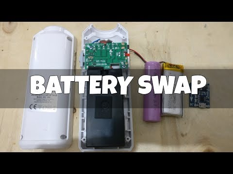 Upgrading light to Lithium Battery