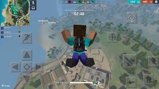 Free Fire vs. Minecraft PE! screenshot 2