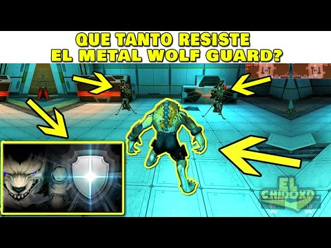 ¡METAL WOLF GUARD VS ARMAS! ¡ÉPICO! - WOLFTEAM LATINO