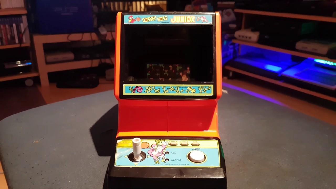 Coleco Donkey Kong Jr Tabletop Youtube