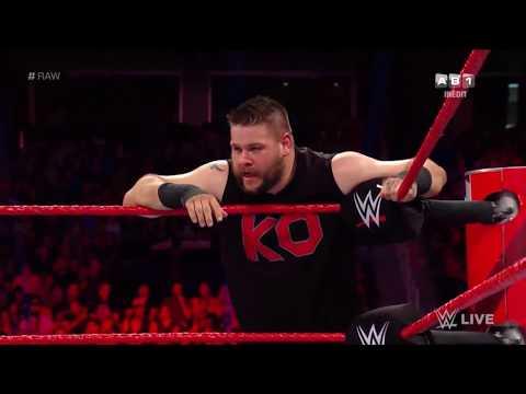 Braun Strowman et Finn Bálor vs Kevin Owens et Jinder Mahal: Raw, 13  Août  2018 VF