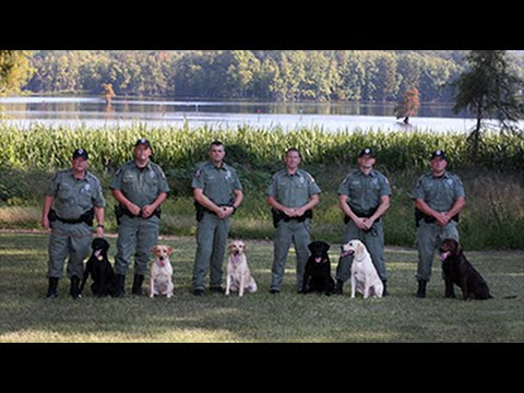 Agfc k9 unit youtube for Arkansas game and fish forecast