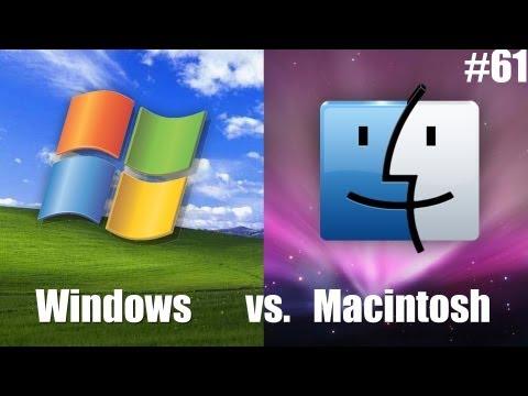 Виндоус или Мак ОС? [Windows vs. MacOS] #61