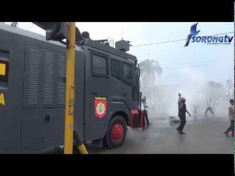 KERIBUTAN DI JALAN AHMAD YANI KOTA SORONG, POLISI TANGGKAP TIGA WARGA YANG DIDUGA PROVOKATOR