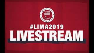 Live - Track, Rugby, Swimming, Wheelchair Basketball   Parapan American Games Lima 2019