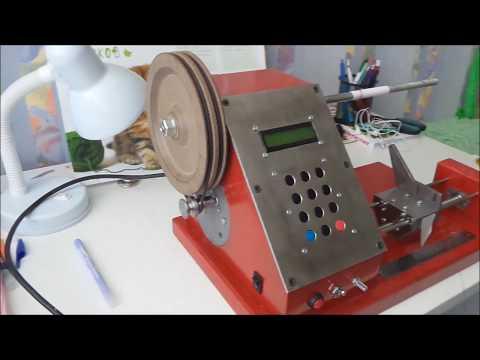 видео: Намоточный станок с автоматической укладкой витков