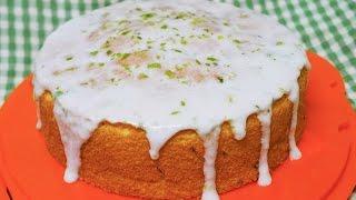 老奶奶 檸檬 蛋糕  lemon glazed cake 糖霜 海綿蛋糕