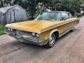 1968 Chrysler Newport V8 383 Big Block goldene Patina