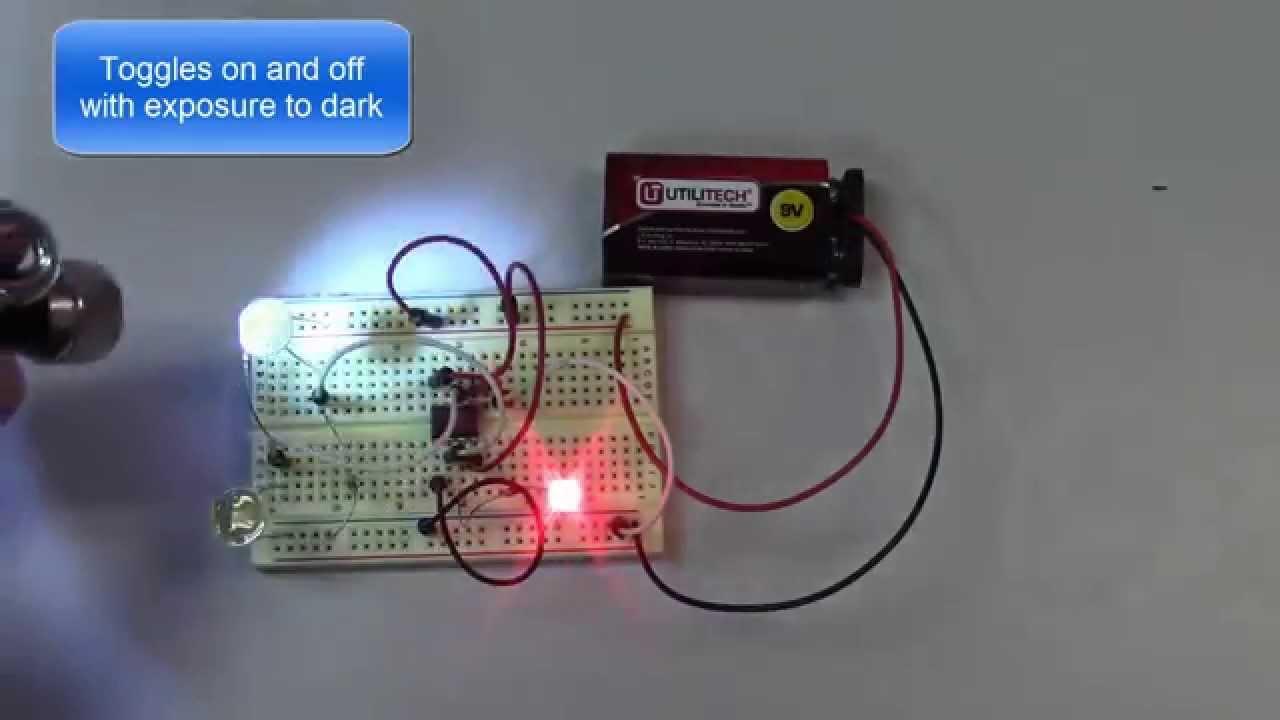 Laser Remote Control Using 555 Timer Youtube Use Build Spaceship Alarm Circuit Diagram