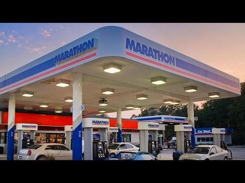 Marathon Oil Drops Along With Oil