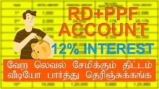 RD and PPF Saving Account Plan in Tamil | saving plan | in tamil
