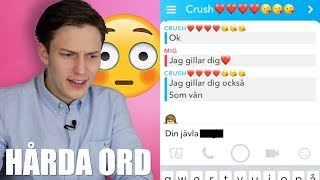 BERÄTTAR FÖR MIN CRUSH ATT JAG GILLAR HEN! #4