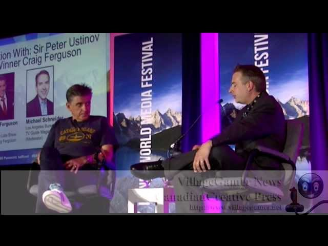 Interview With Sir Peter Ustinov Comedy Award Winner Craig Ferguson - Banff 2013