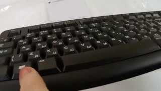 Клавиатура Logitech K120 USB Black oem | unboxing