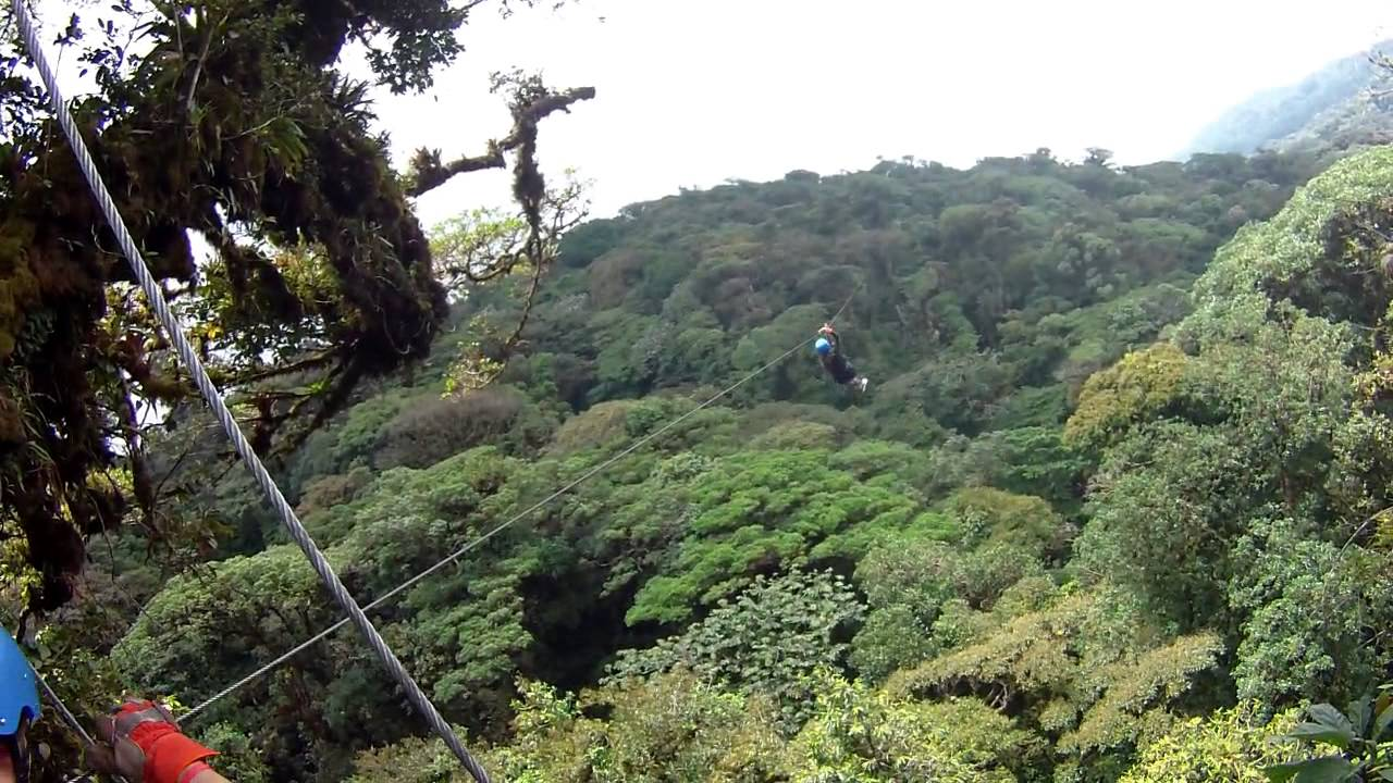 & Costa Rica 2014 - Monteverde Extreme Canopy - YouTube