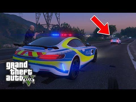 Polizei einsatz im AMG ! 😱