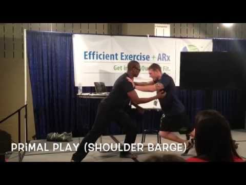 Fitness Explorer (Primal Play - Shoulder Barge)
