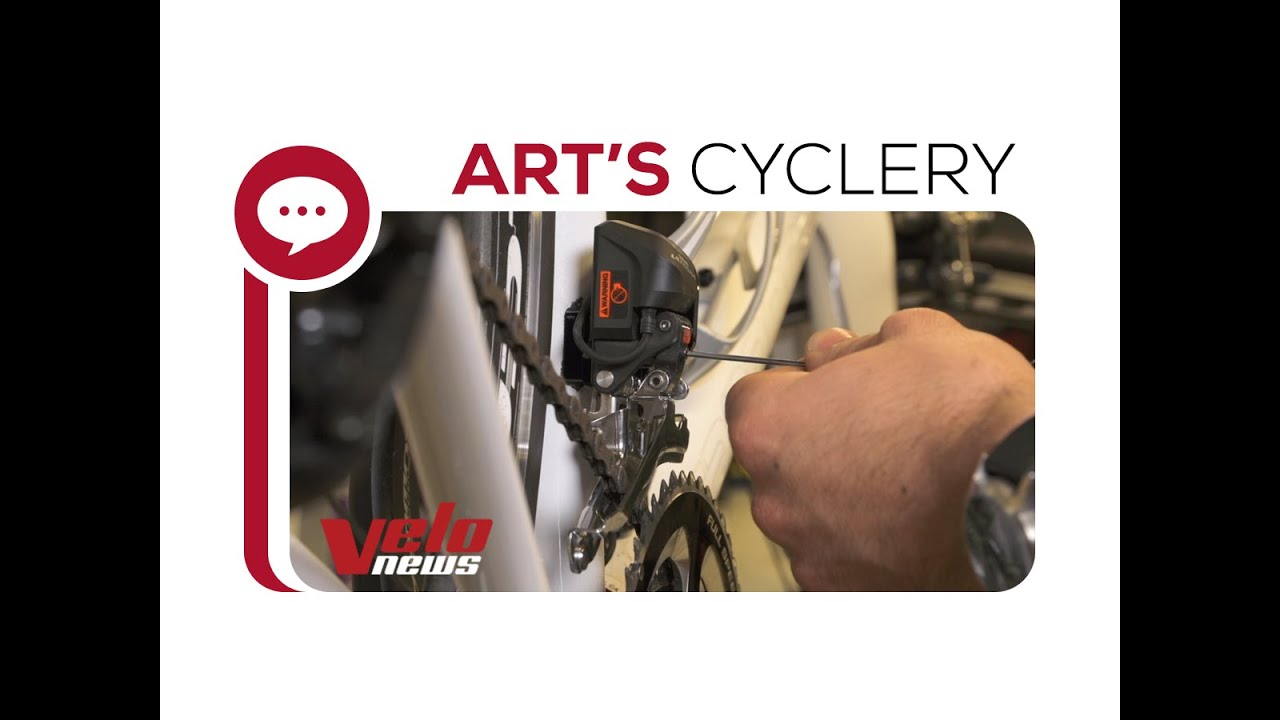ce738df9e1d Ask a Mechanic: Adjusting 6870 and 9070 Di2 Front Derailleurs - YouTube
