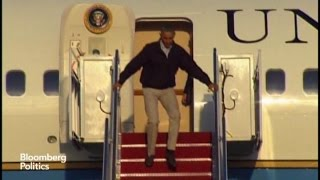 Obama Trips on Air Force One; Phil Shows How It's Done
