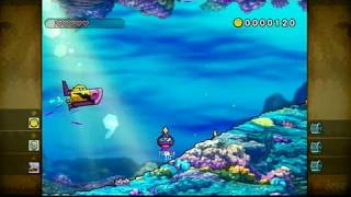 Wario Land: Shake It! Nintendo Wii Gameplay - Submarine