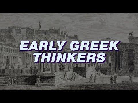Early Greek Thinkers: Anaximander, Thales, Heraclitus, Parmenides -  Pro-Seminar