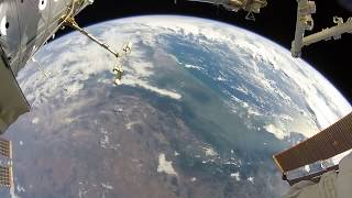 Astronaut Spacewalking with a GoPro