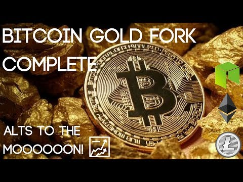 Bitcoin Gold Fork Complete (BTG Hits YoBit Exchange)