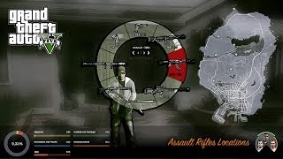 GTA V Assault Rifles Locations
