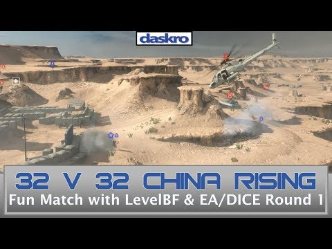 32v32 Silk Road Showmatch with LevelBF & EA/DICE