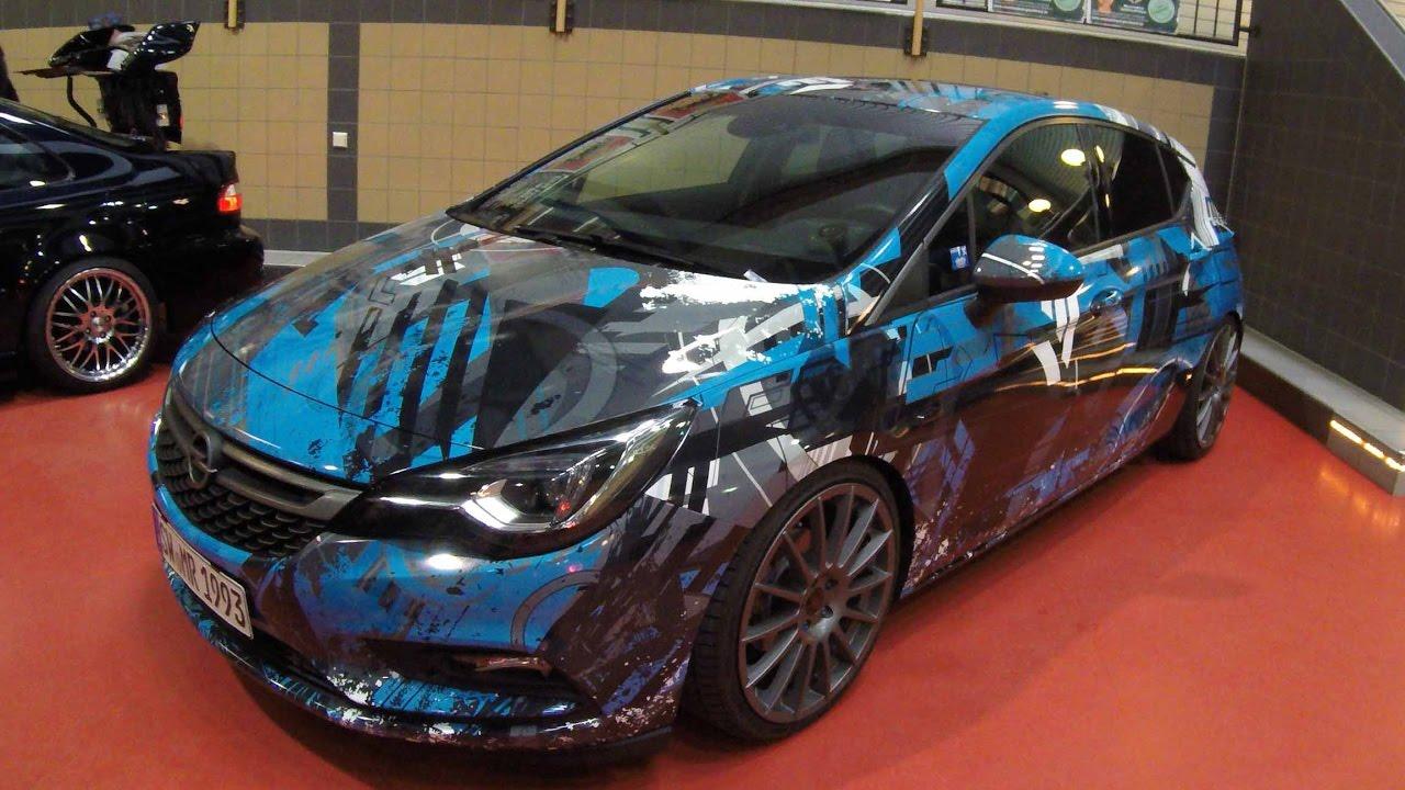 Opel Astra K Tec Wheels Wrap Show Car Walkaround