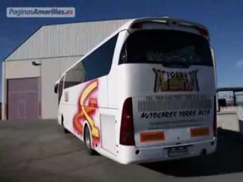 Autocares torre alta en murcia youtube - Paginas amarillas murcia ...