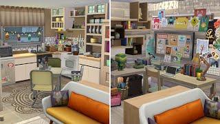 Квартира матери одиночки в новом городе / NO CC / Speed Build Sims 4