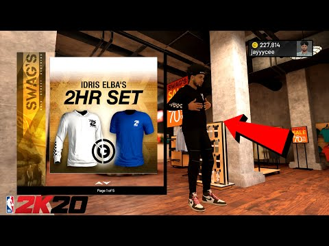 NBA 2K20 NEW 2HR SET CLOTHES IN NBA 2K20 DRIPPIEST OUTFITS IN NBA 2K20 SWAGS NEW CLOTHES 2 HR SET 2K