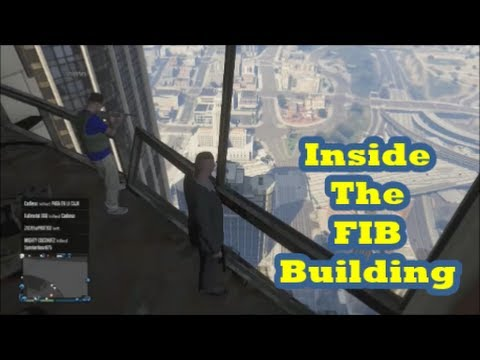 Gta 5 Online How To Get Inside The Fib Building Glitch