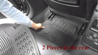 Universal Rubber car floor mats - thpandacover