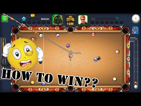 8 Ball Pool - HOW TO WIN EVERY GAME TUTORIAL (KING CUE 2017) HD