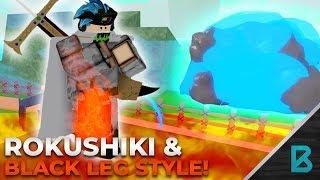 ROKUSHIKI & BLACK LEG SHOWCASE | RO-PIECE | ROBLOX